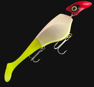 Headbanger Shad UV Clown