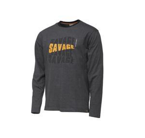 SavageGear Simply Savage Logo Tee Long Sleeve