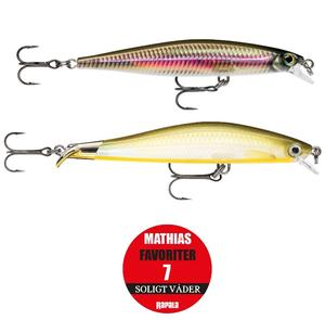 "Rapala ""Mathias Holgerssons Favoriter 7"" - Soligt Väder / 2-pack"