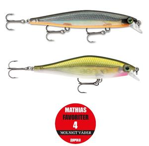 "Rapala ""Mathias Holgerssons Favoriter 4"" - Molnigt Väder / 2-pack"